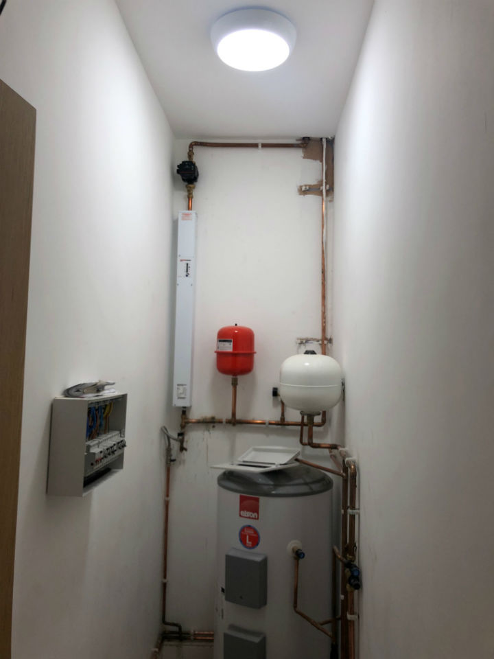 Xpert Electrical Contractor West Yorkshire - Apartment conversion boiler